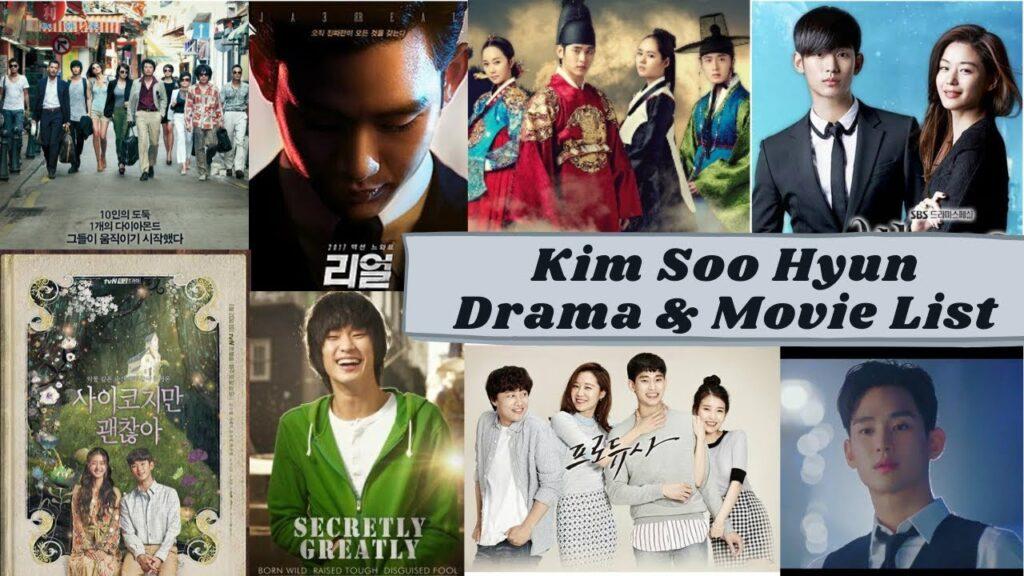 Kim Soo hyun Dramas, Movies and tv shows