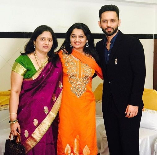 Rahul's wife, family, and sister