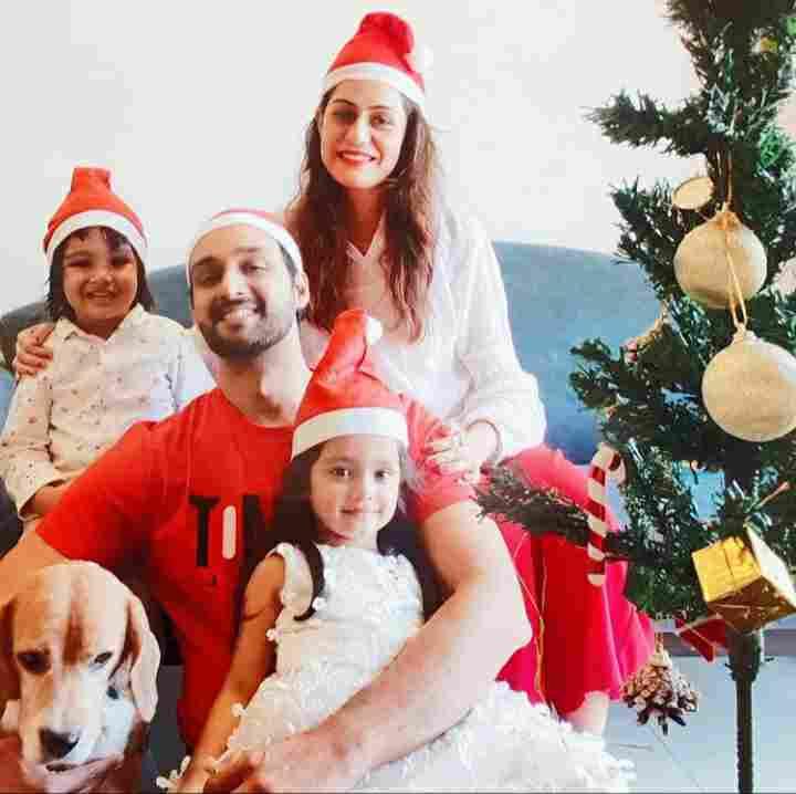 Sourabh Raj Jain Children and Wife